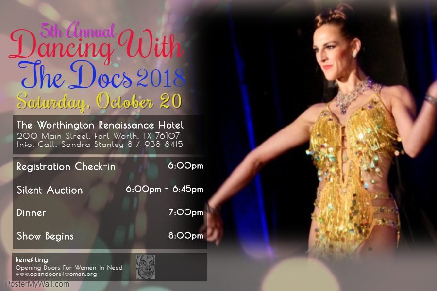 5th Annual Dancing With The Docs Saturday, October 20, 2018